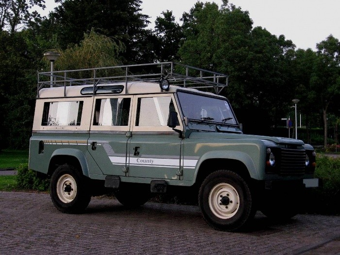 land rover  county