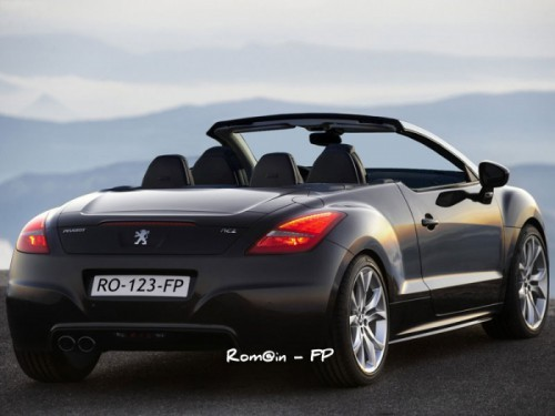 peugeot RCZ Roadster back