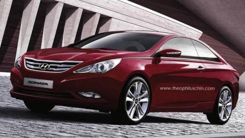 preview Hyundai Sonata coupé 2011.1