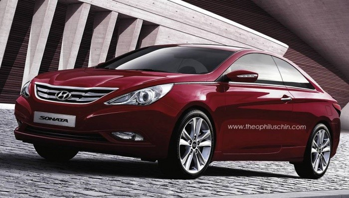 preview Hyundai Sonata coupé 2011