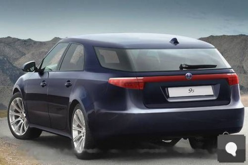 saab 9-5 SW preview 2010