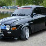 saab 96 de tuning V6 2.8L bi turbo