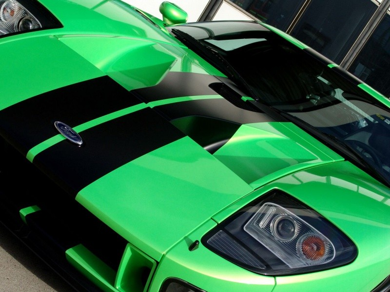 ford gt geiger hp 790 feu vert aux perfomances blog automobile. Black Bedroom Furniture Sets. Home Design Ideas