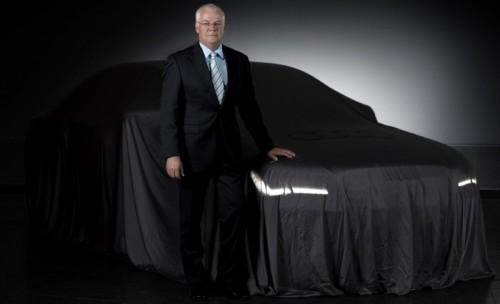 Audi A8 teaser 2010