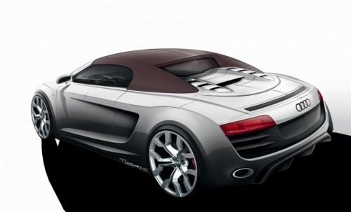 Audi R8 Spyder V10 dessin.2