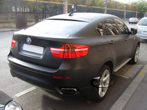 BMW X6 50i noir mat by Lagunafan.2