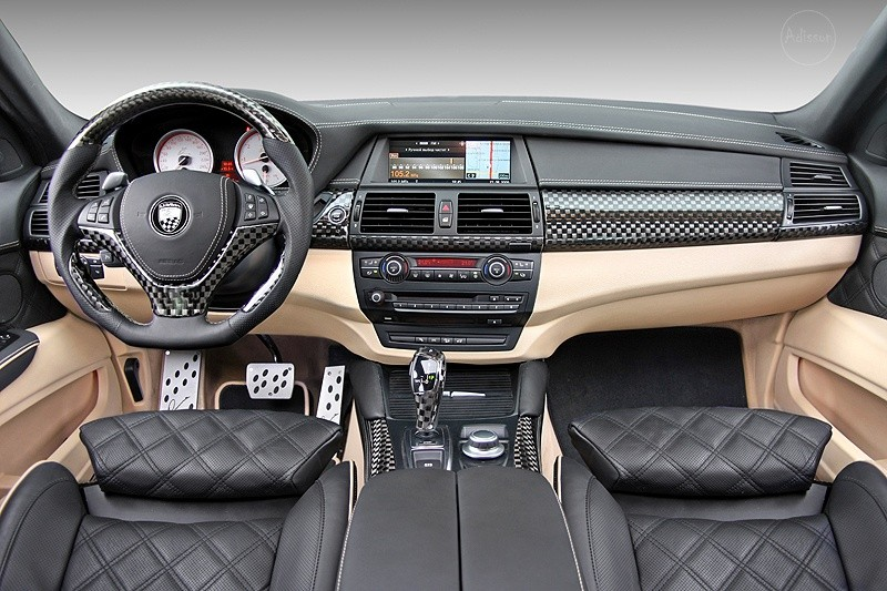 bmw x6 lumma noir mat du brutal sur 4 grosses roues blog automobile. Black Bedroom Furniture Sets. Home Design Ideas