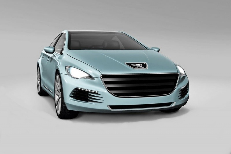 Peugeot 508 preview 2011