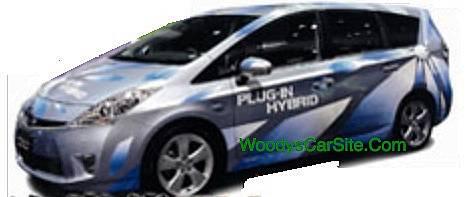 Prius Wagon Plug In!