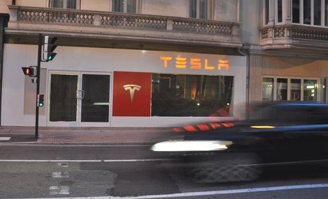 Show Room Tesla Monaco 2009