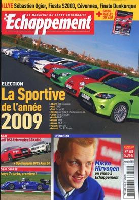 Sportive de l'année 2009