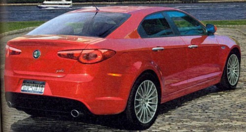 alfa romeo giulia preview 2011