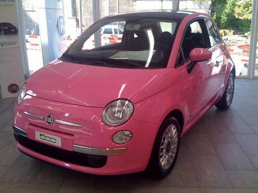 fiat 500 so pink les amies de barbie ou de paris hilton vont l 39 aimer m j blog. Black Bedroom Furniture Sets. Home Design Ideas