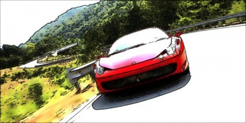 f458-italia_on the road