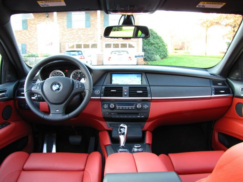 Bmw x6 m un bel exemplaire spacegrau int rieur cuir for Interieur x6