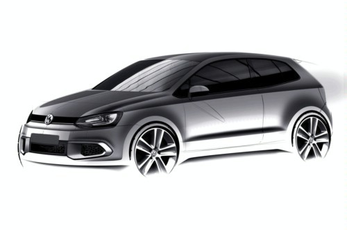 sketch officiel de la Polo GTI