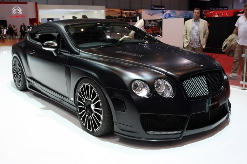 Bentley GT noir mat