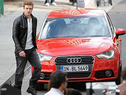 Justin Timberlake et l'A1
