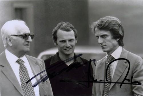 Lauda Montezemolo - 1974