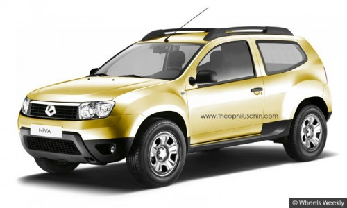 Preview Lada Niva 2012 by T.Chin
