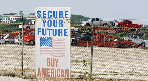 Une usine Dodge en début 2009