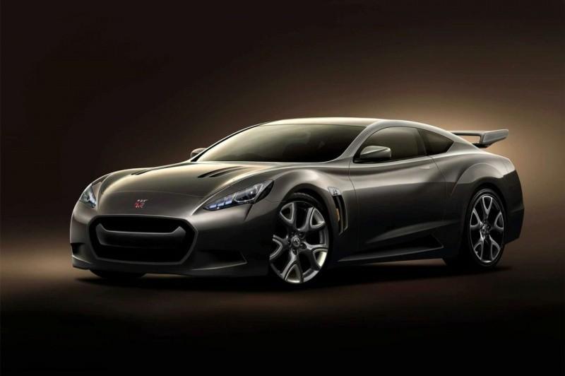 rendu Nissan GT-R 2013 hybrid