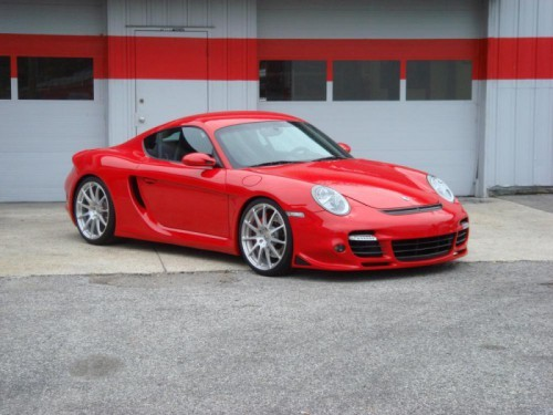 Photo 5 57 p 500x375 Porsche Cayman S by TPC Racing : Mordant !