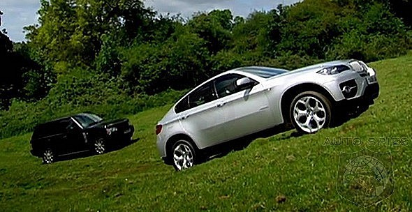 BMW X6 by Top Gear
