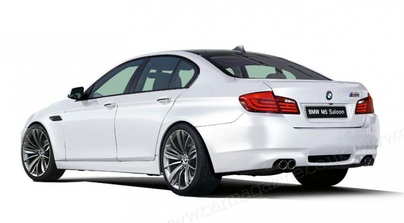 Bmw M5 2011. BMW M5 2011 : De simples