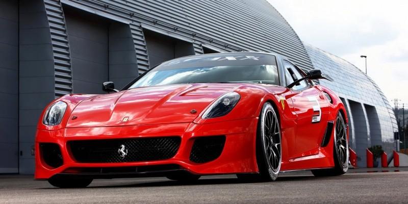 Ferrari-599XX -illustration pour F599 GTO