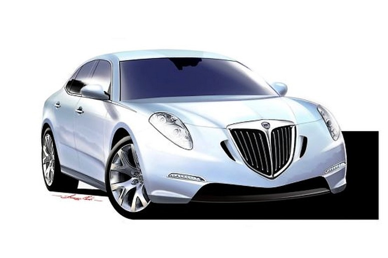 Lancia Thesis 2011 first rendering
