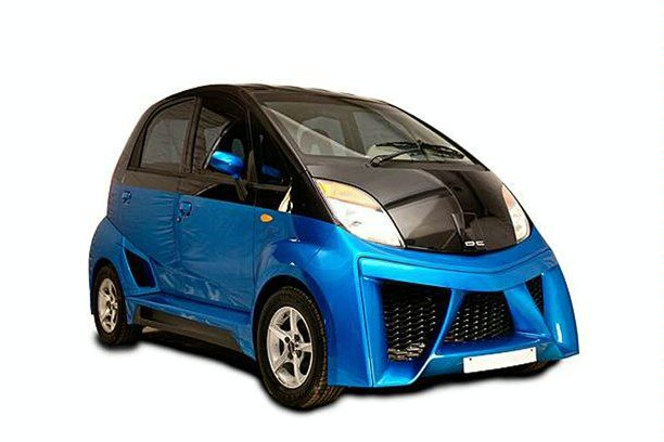Tata Nano tuned by DC Design