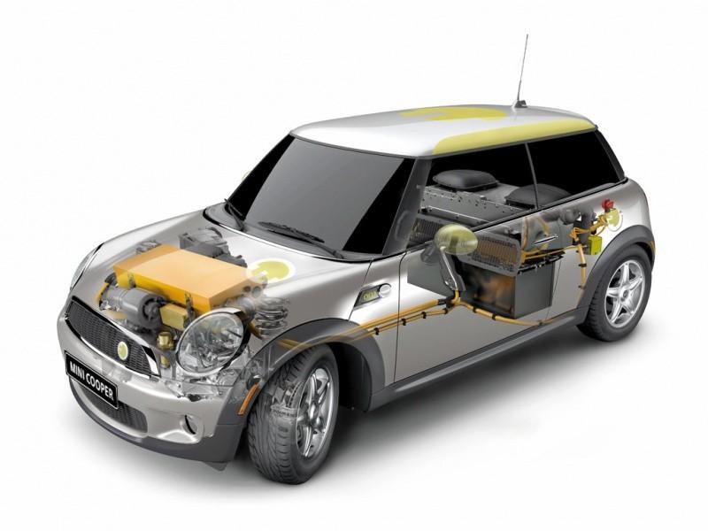 mini E écorché 2009-2010