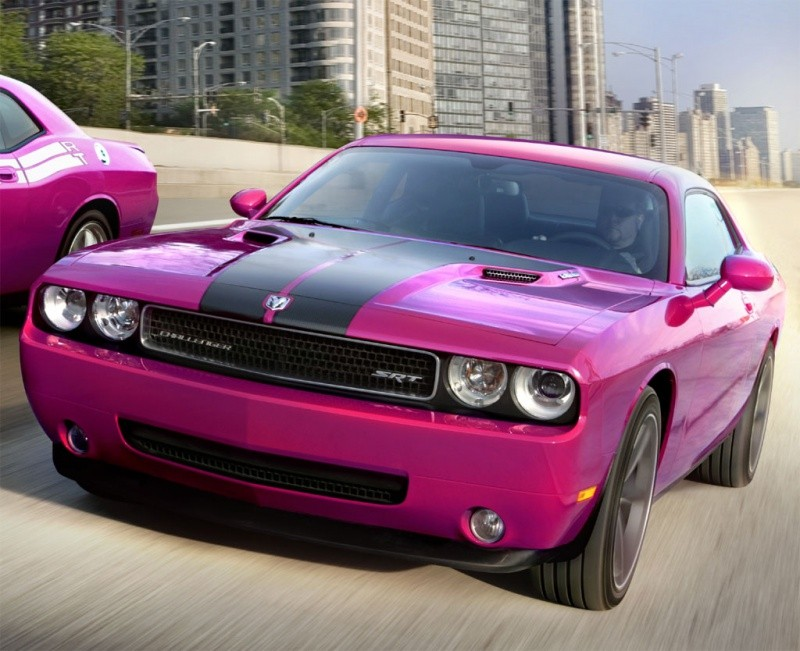 Dodge Challenger Furious Fuschia Furieusement Rose Ou
