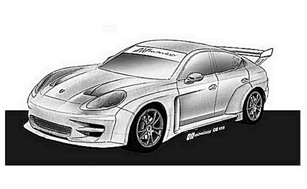 Porsche Panamera S race version by N-technology
