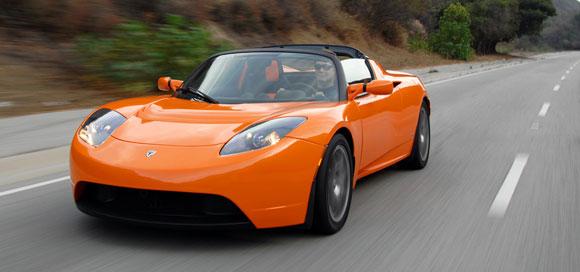 Teslta Roadster Sport