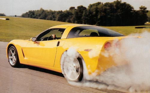 ChevroletCorvette_Burnout