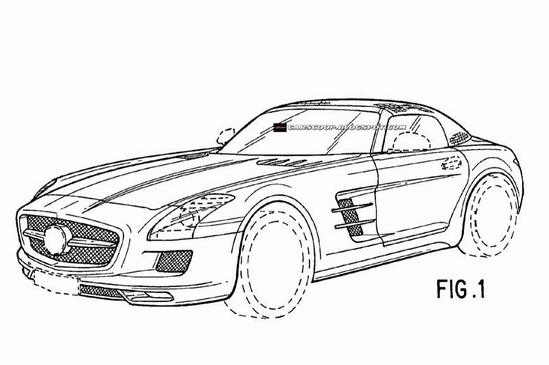 Mercedes Sls Amg Roadster Par Jonsibal Blog