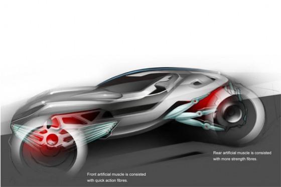 Mercedes Cyborg 1 560x373 Mercedes CSV Concept : La Merco de Boss Nass !
