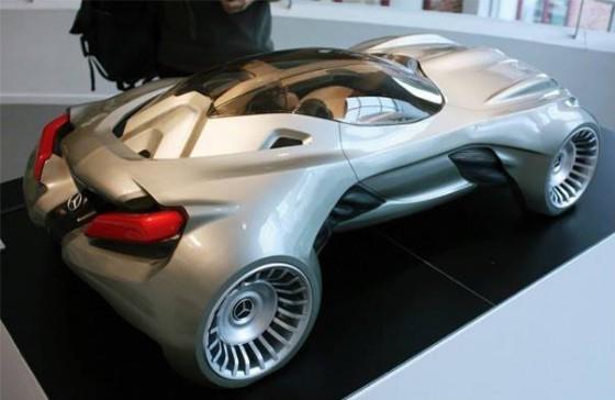 Mercedes Cyborg 31 560x364 Mercedes CSV Concept : La Merco de Boss Nass !