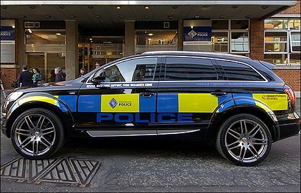 Q7 TDI de Police