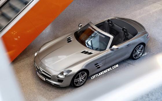 SLS AMG roadster.2 560x350 Mercedes SLS AMG Roadster : ... par Jonsibal !