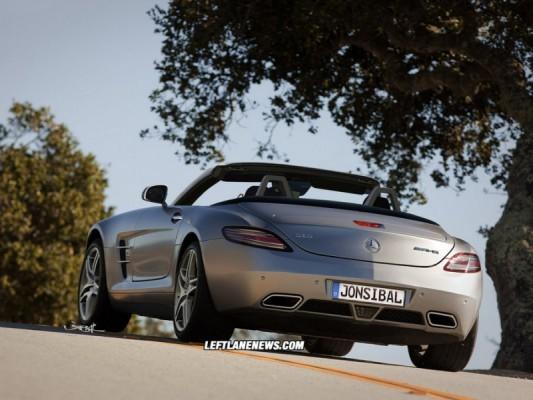 SLS AMG roadster.3 533x400 Mercedes SLS AMG Roadster : ... par Jonsibal !