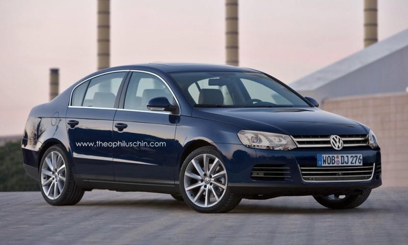 VW Passat restylée 2011