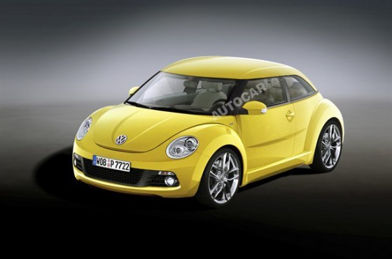 The New Volkswagen Beetle 2012. Volkswagen New Beetle 2012.