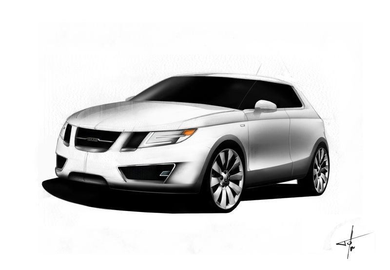 saab 9-1 2012 preview front