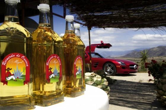 10c2761101 560x373 Mercedes SLS AMG et 300 SL : Les Gullwing nous refont la Carrera Panaméricana