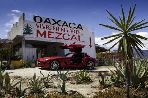 Mercedes SLS AMG et 300 SL : Les Gullwing nous refont la Carrera Panaméricana
