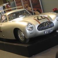 300sl .3 200x200 Mercedes SLS AMG et 300 SL : Les Gullwing nous refont la Carrera Panaméricana