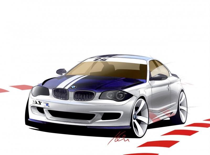 BMW 135 Tii Concept sketch